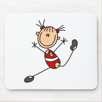 Stick Girl Gymnast Mousepad