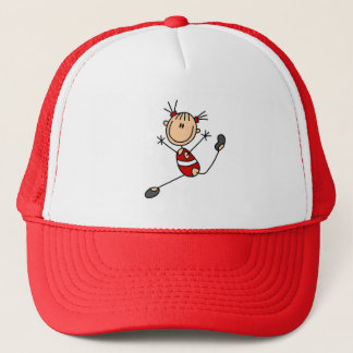 Stick Girl Gymnast Tshirts and Gifts Trucker Hat
