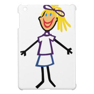 Stick Girl iPad Mini Cases