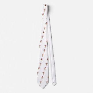 Stick Girl Neck Tie