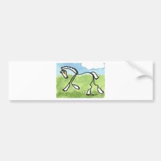 STICK HORSE Belgian Bumper Sticker