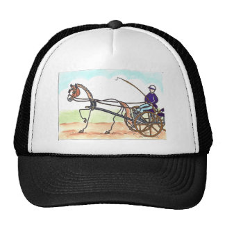 STICK HORSE Carriage Driving Trucker Hat