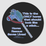 Stick Horse Stickers