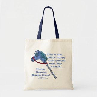 Stick Horse Tote Bag