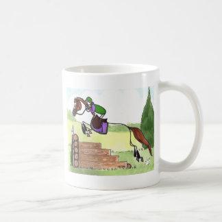STICK HORSE XC Eventer Chestnut Coffee Mug