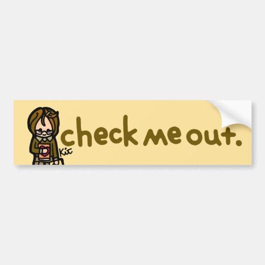 stick it on your book cart. bumper sticker