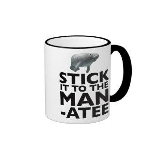 STICK IT TO THE MANATEE mug