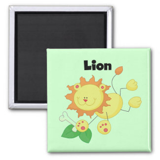 Stick Lion T-shirts and Gifts Magnet