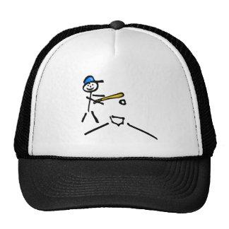 Stick Man Baseball Trucker Hat