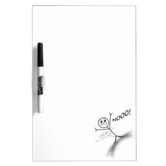 Stick Man Wipeout Dry-Erase Board