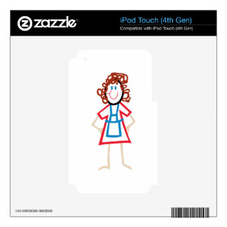 Stick Mom iPod Touch 4G Skins