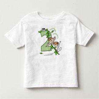 Stick Monkey Swing 2nd Birthday T Shirt