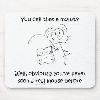 Stick Mouse Mousepad