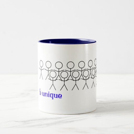 Stick out of the crowd mugs