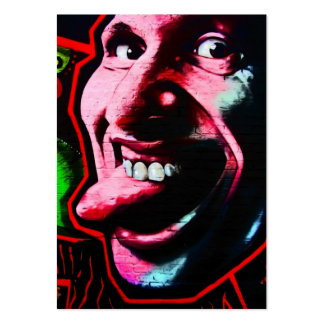 Stick Out Tongue, East Side Gallery, Berlin Wall-2 Large Business Cards (Pack Of 100)
