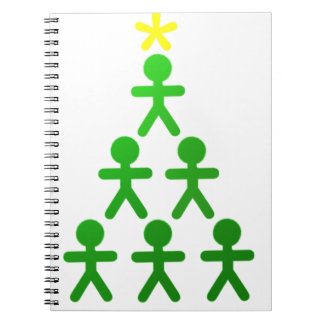Stick People Xmas Tree.png Notebook