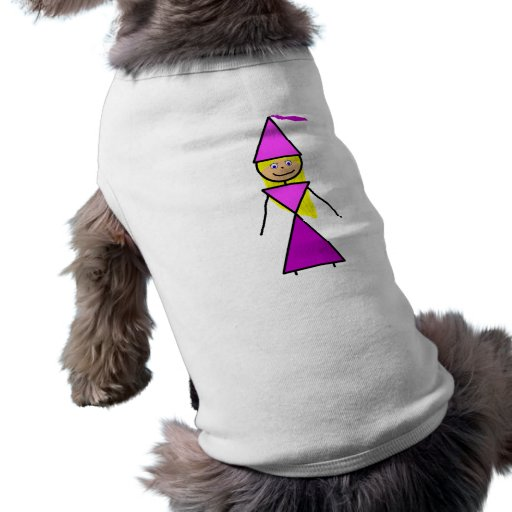 Stick Princess Blonde Doggie Tee Shirt