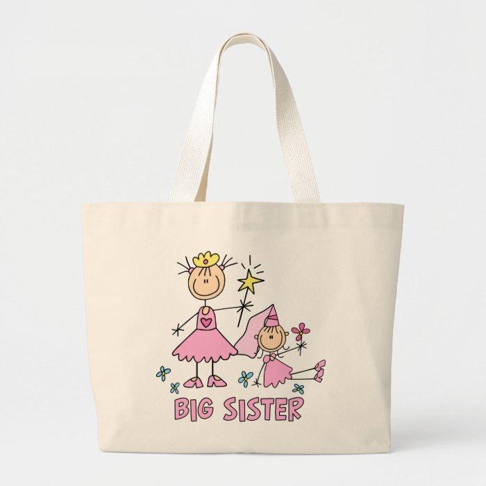 Stick Princess Duo Big Sister Large Tote Bag