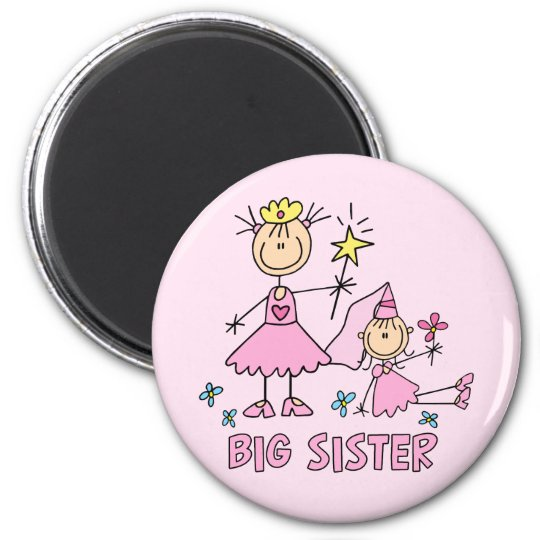 Stick Princess Duo Big Sister Magnet