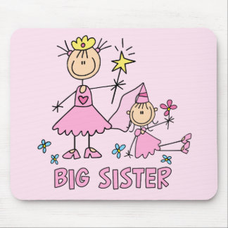 Stick Princess Duo Big Sister Mouse Pad