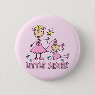 Stick Princess Duo Little Sister Button