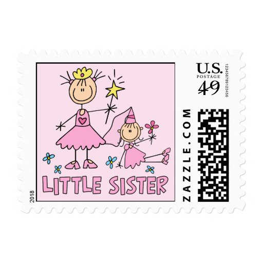 Stick Princess Duo Little Sister Postage