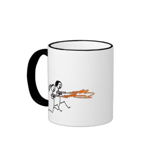 Stick Rage Coffee Mugs