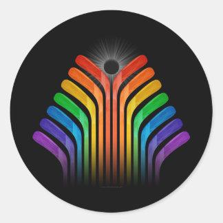 Stick Spectrum Classic Round Sticker