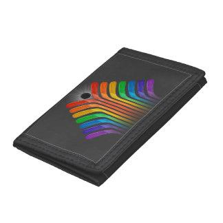Stick Spectrum Tri-fold Wallet