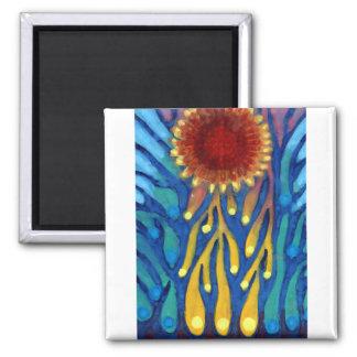 Stick Sun Magnet