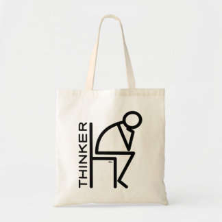 Stick Thinker Tote Bag