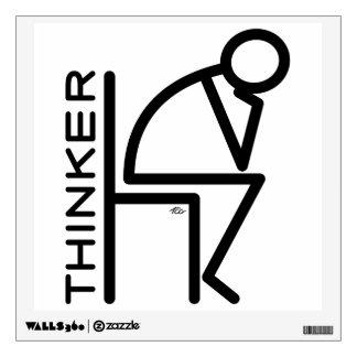 Stick Thinker Room Stickers