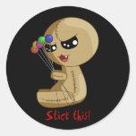 Stick this! round sticker