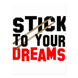 Stick To Your Dreams Postcard