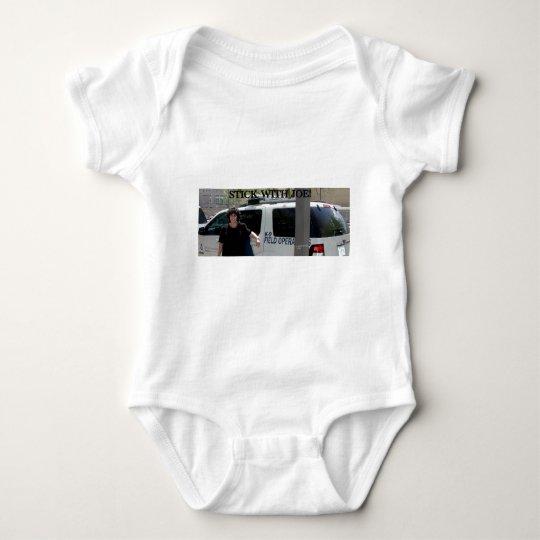STICK WITH JOE BABY BODYSUIT