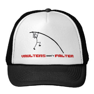 Stick With Sport Vaulters don't Falter Cap R/B Trucker Hat