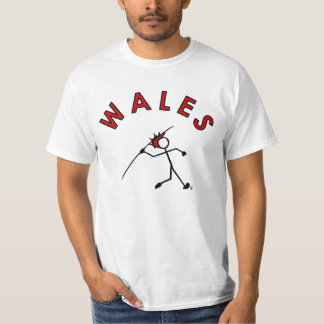 Stick With Sport Wales Javelin Stickman Red Hair T-Shirt