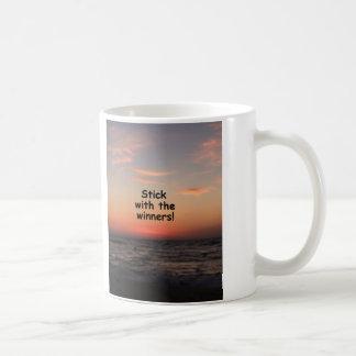 """Stick with the Winners"" Coffee Mug"