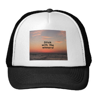 """Stick with the Winners"" Trucker Hat"