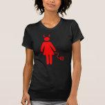 Stick Woman Devil T-Shirt