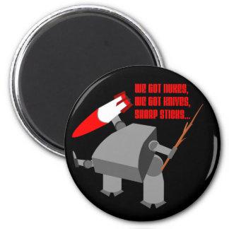 Stickbot 2 Inch Round Magnet