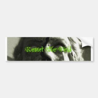 Sticker3 Grn Rend el velo Pegatina De Parachoque