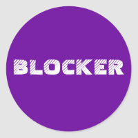 Sticker 6- or 20-Pack: Blocker