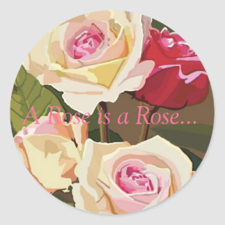 Sticker- A Rose