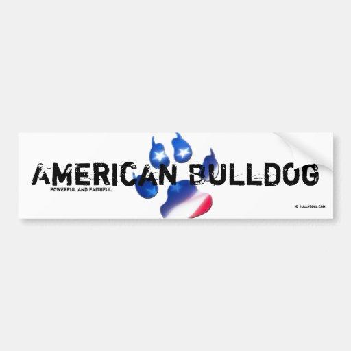 Sticker American Bulldog Auto Sticker