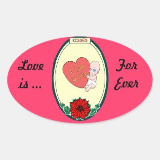 Sticker _Baby Love