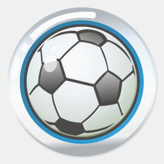 Sticker Balloon Football
