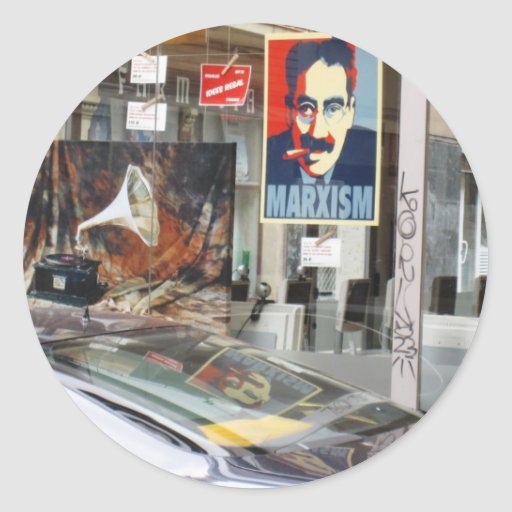 sticker Barcelona Groucho