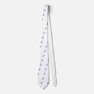 Sticker Bomb Moon Neck Tie