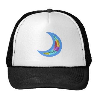 Sticker Bomb Moon Trucker Hat